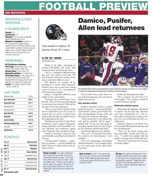 2013 Now Newspapers Football Previews