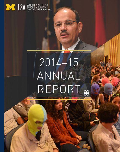 2014-15 Weiser Center Annual Report