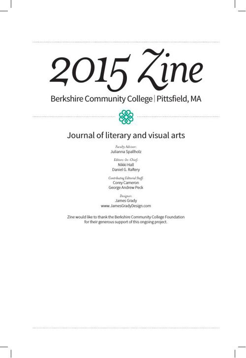 Zine 2015 - Berkshire Community College