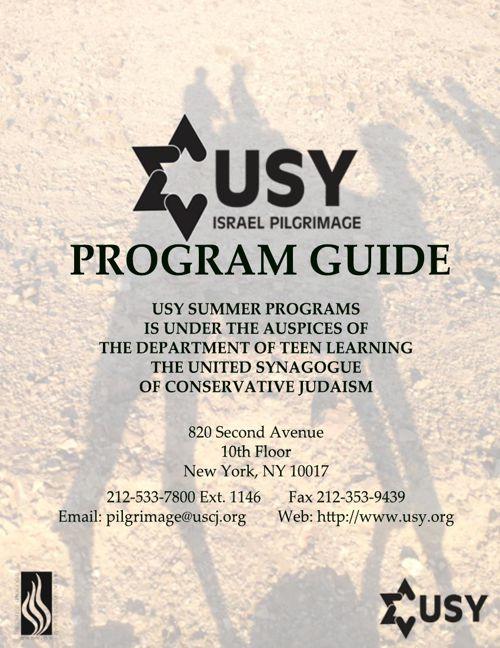 Pilgrimage Program Guide