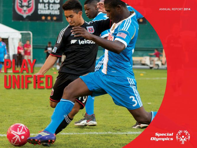 Special Olympics Annual Report 2014