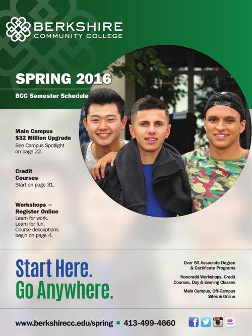 Spring 2016 Semester Schedule