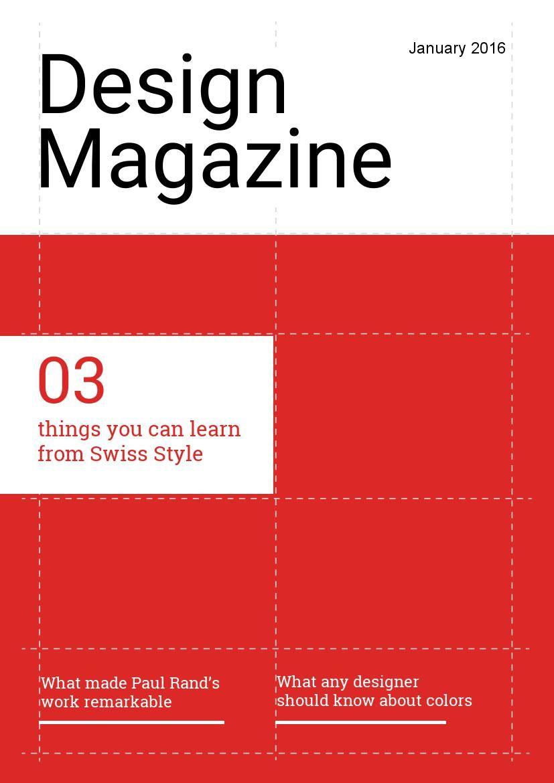 Design Magazine January 2016