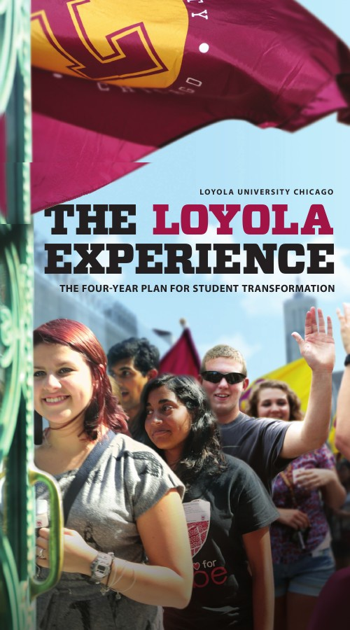 Loyola Experience: 4-Year Plan for Student Transformation