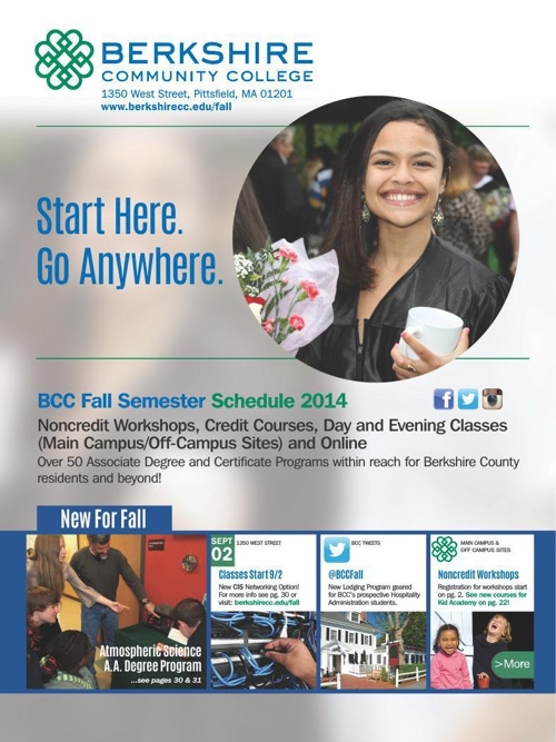 BCC Fall 2014 Semester Schedule