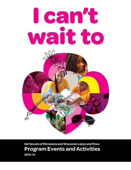 2013 - 2014 Program Events & Activities Guide
