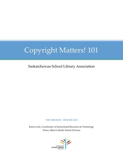 Copyright Matters 101_kloch_spring2013