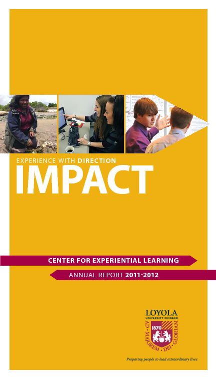 CEL IMPACT 2011-2012 Annual Report