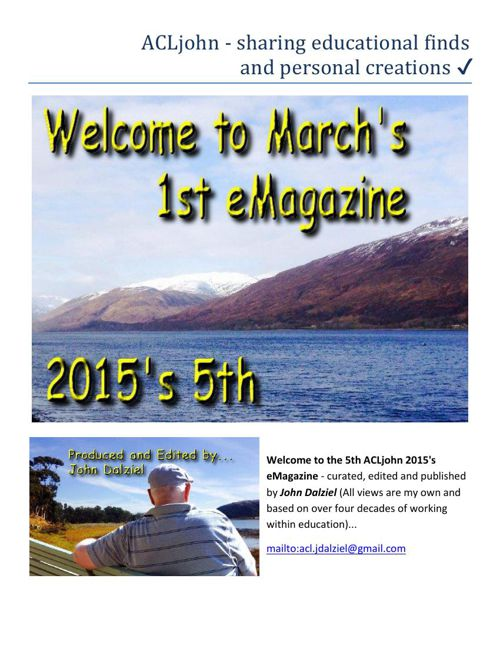 March 2015's eMagazine: Issue 5