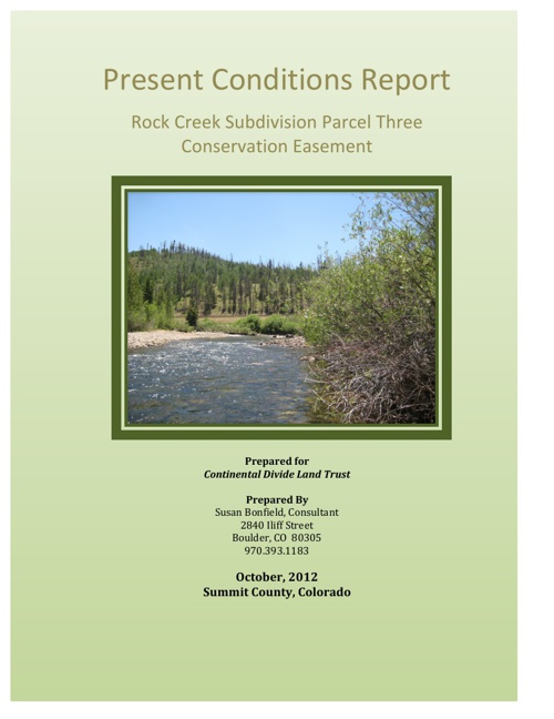 Rock Creek Ranch 12-12