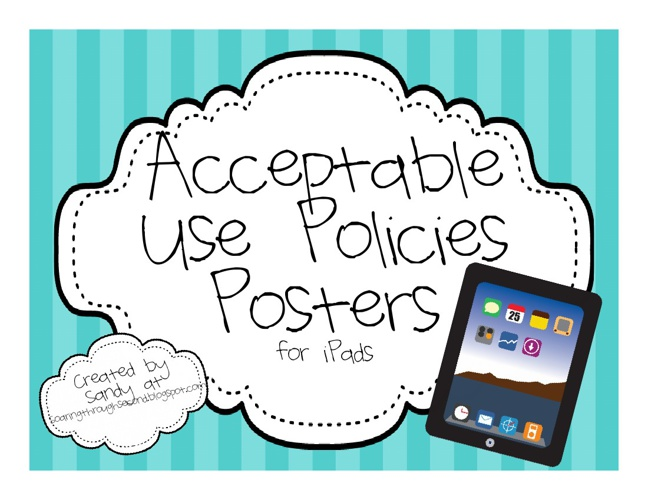 iPad Acceptable Use Policies