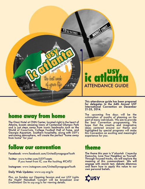 IC 2014 Attendance Guide