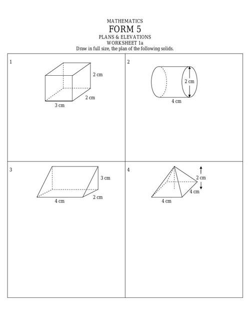 Elevation Plan Maths : Flipsnack sudut dongakan dan tunduk by lharshad