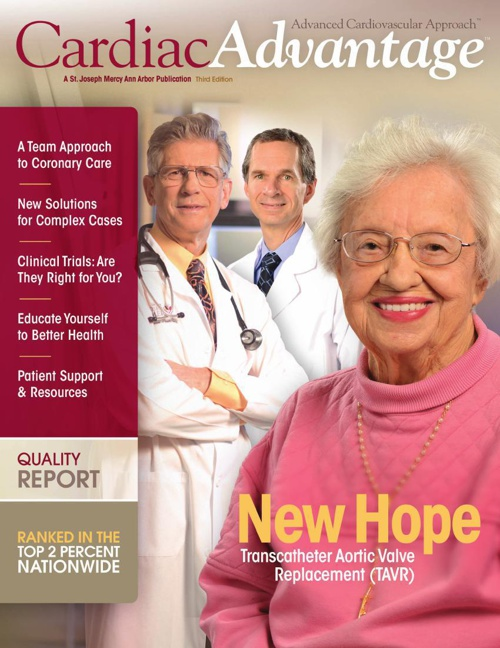 Cardiac Advantage Spring 2014
