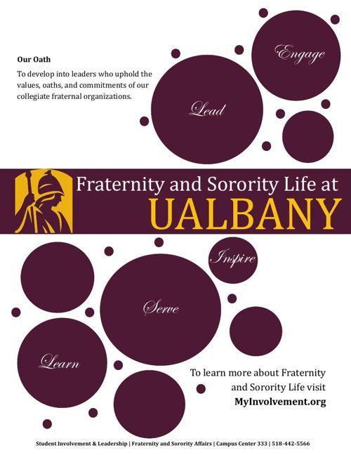 UAlbany Fraternity and Sorority Life