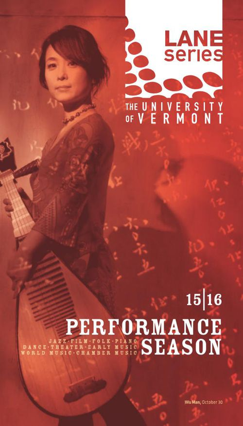 UVM Lane Series Performance Season 2015–2016