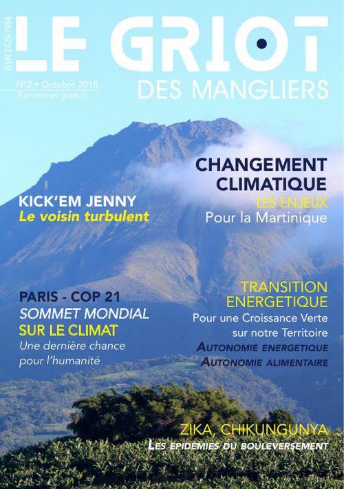 Le Griot des Mangliers N° 2 Octobre 2015