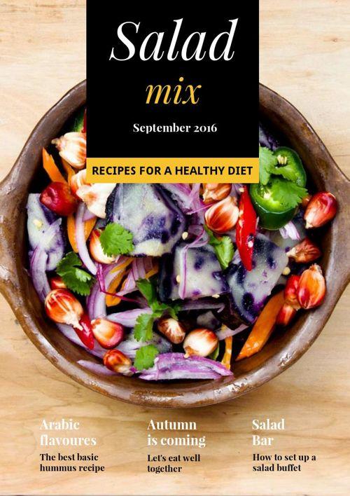 Salad magazine