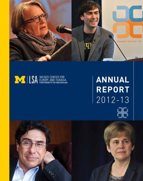 2012-13 Weiser Center Annual Report