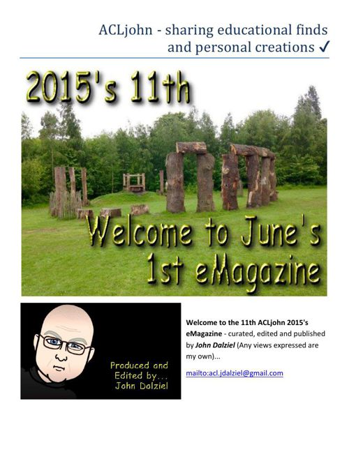 June 2015's eMagazine Issue: 11