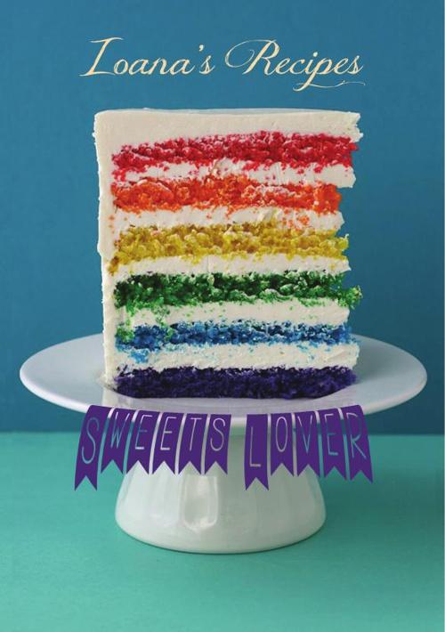 "Retetar ""Rainbow cake"""