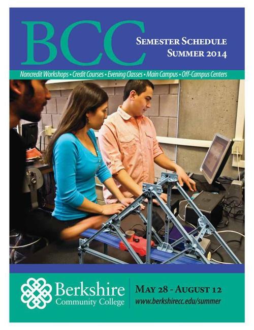 BCC's Summer Schedule - Workshops & Credit Offierings