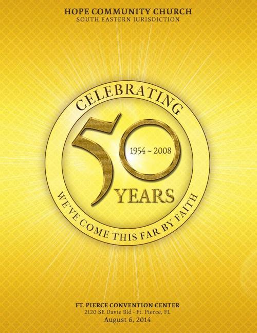 Flipsnack church anniversary by michael taylor for Anniversary magazine