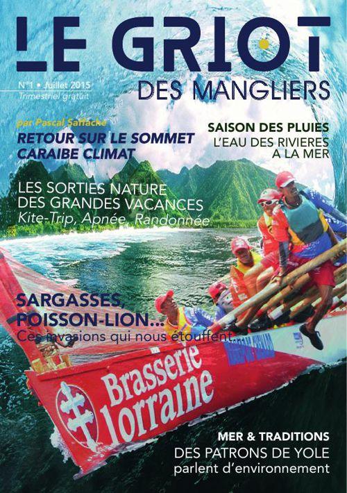 Le Griot des Mangliers N° 1 Juillet 2015