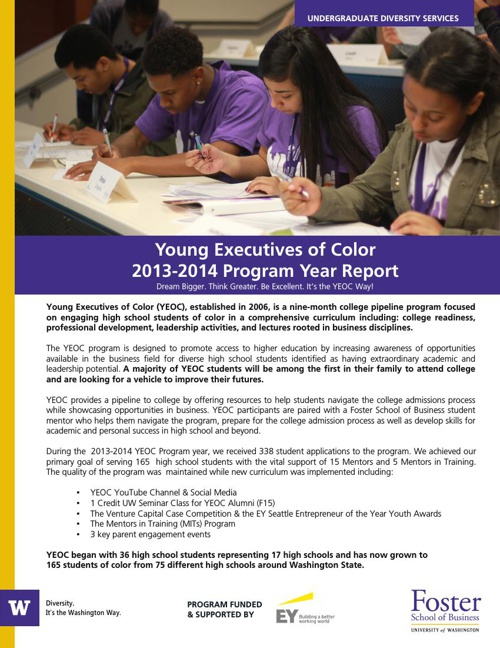 2013-2014 YEOC Annual Report