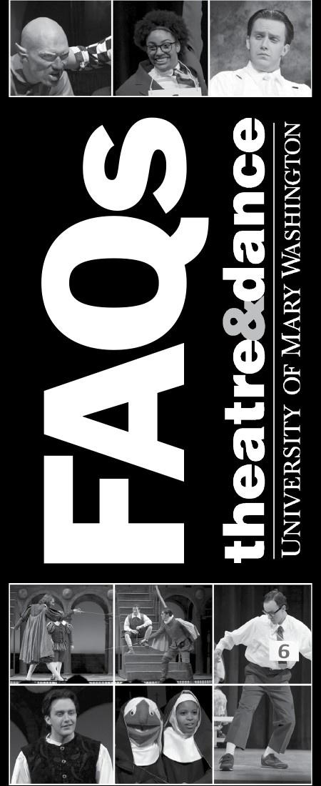 UMW Theatre FAQs