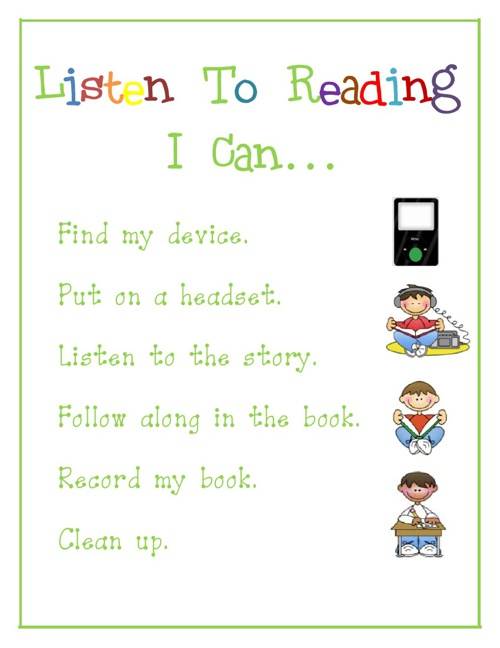 Listen To Reading - Using Devices