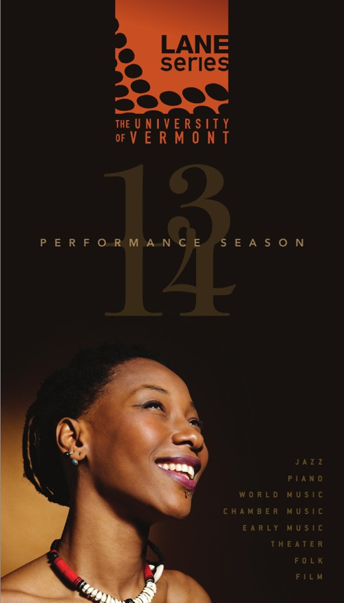 UVM Lane Series 2013–2014 Performance Season Brochure