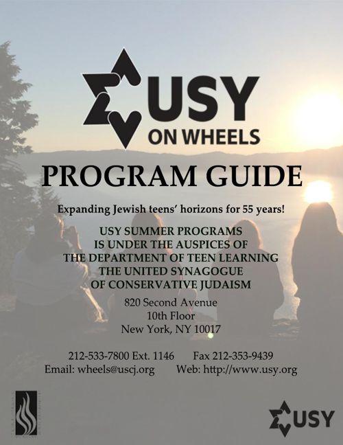 Wheels Program Guide