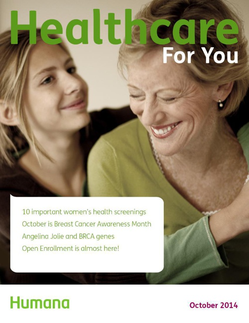 Healthcare For You October 2014