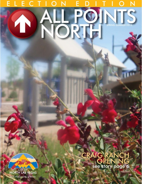 City of North Las Vegas All Points North Spring/Summer 2013
