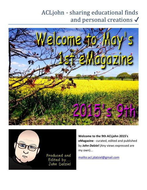 May 2015's eMagazine Issue: 9