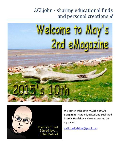 May 2015's eMagazine Issue: 10