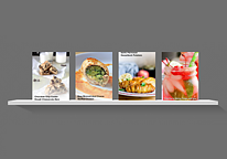 Cookbooks widget